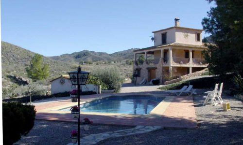 Murcia near Lorca – Country House Olivos