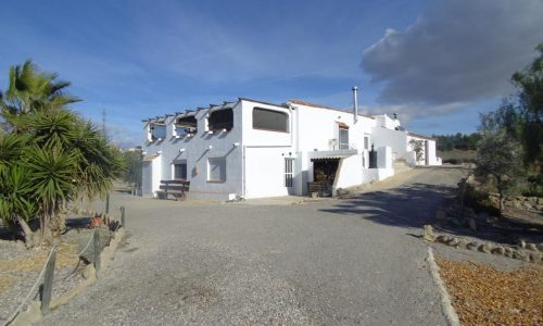 Almeria – near Huercal Overa – Cortijo Debra – a quirky sort of property