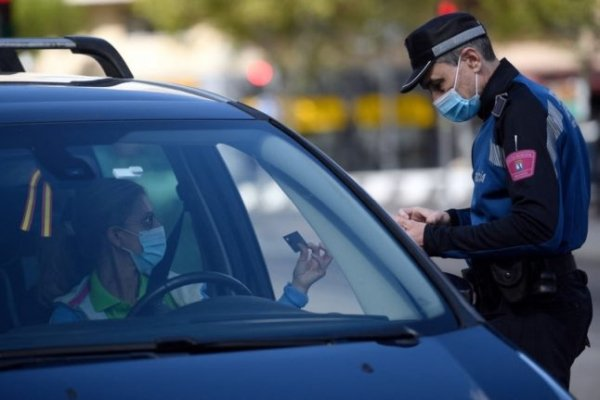 main reasons drivers in Spain get fined