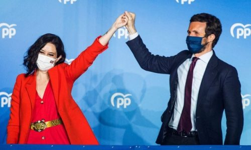 Popular Party takes victory in bitterly fought Madrid regional election