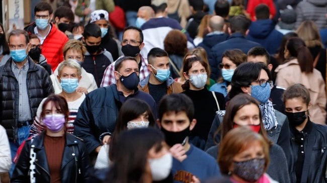 When can we stop using the face mask in Spain, at least outdoors